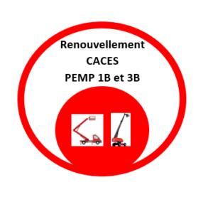 Renouvellement CACES PEMP 1B et 3B